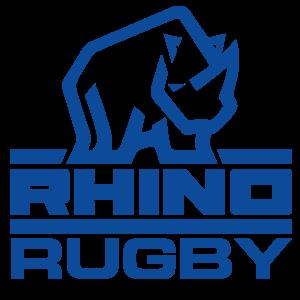Rhino Rugby Logo Blue Small