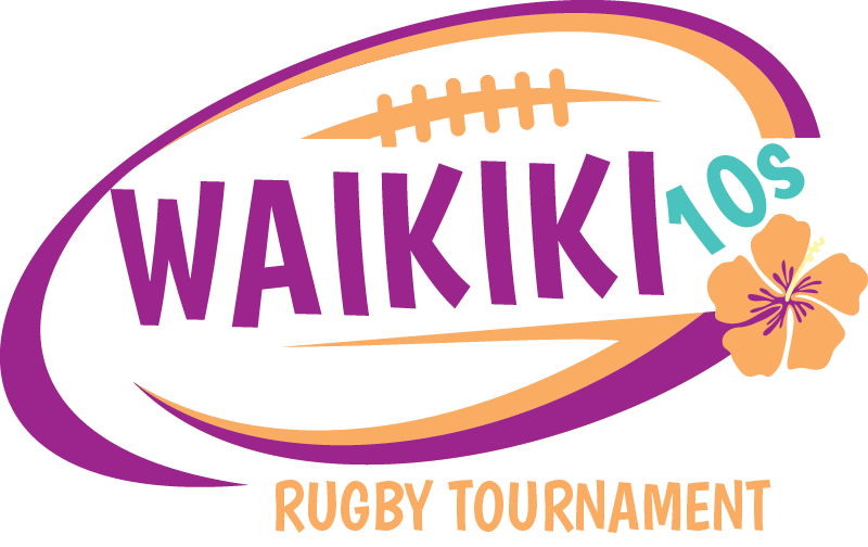 Waikiki 10s Rugby Tournament Logo